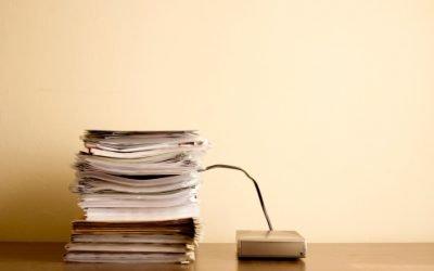 Paper vs. Paperless