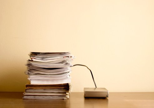Paper vs. Paperless