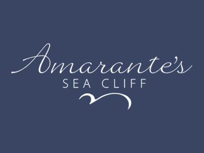Amarante's Sea Cliff new website design